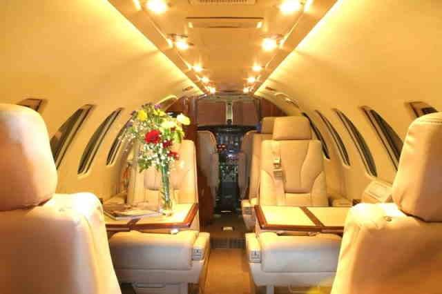 арендовать бизнес джет Cessna Citation V